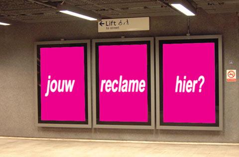 Oh de ironie van dit soort reclames...