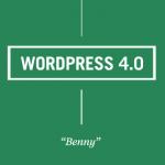 """WordPress 4.0 """"Benny"""" – Wat is er Nieuw?"""