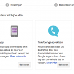 Conversion tracking instellen in Adwords en Analytics