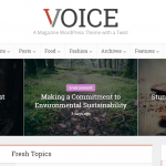 Voice – WordPress Theme