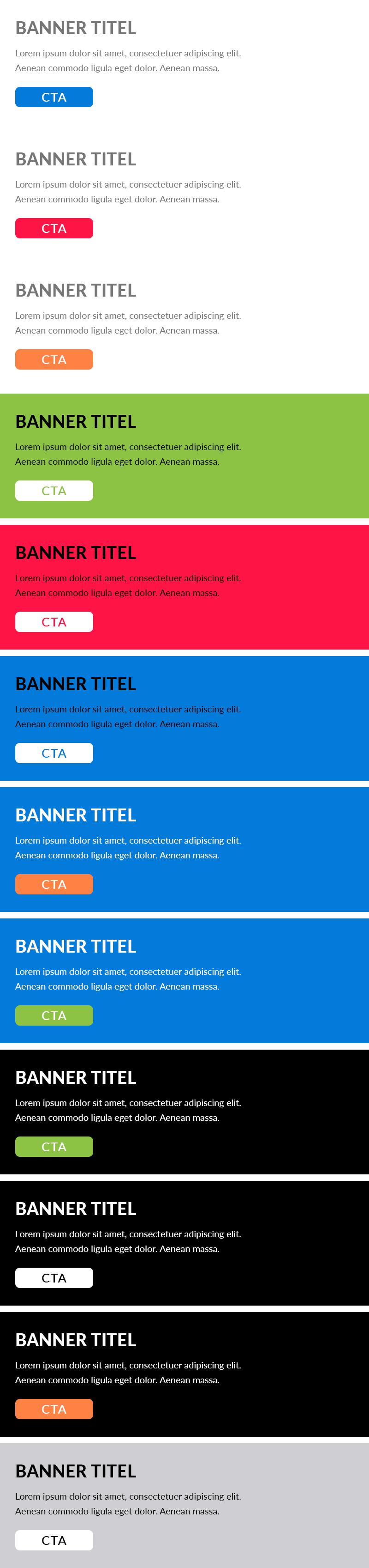 cta banners